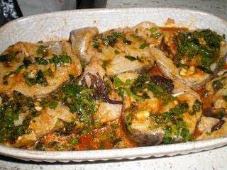 MERLUZA AL HORNO CON CHERMULA la cocinera novata receta cocina pescado pobres economica horno bajo en calorias especias marruecos marroqui