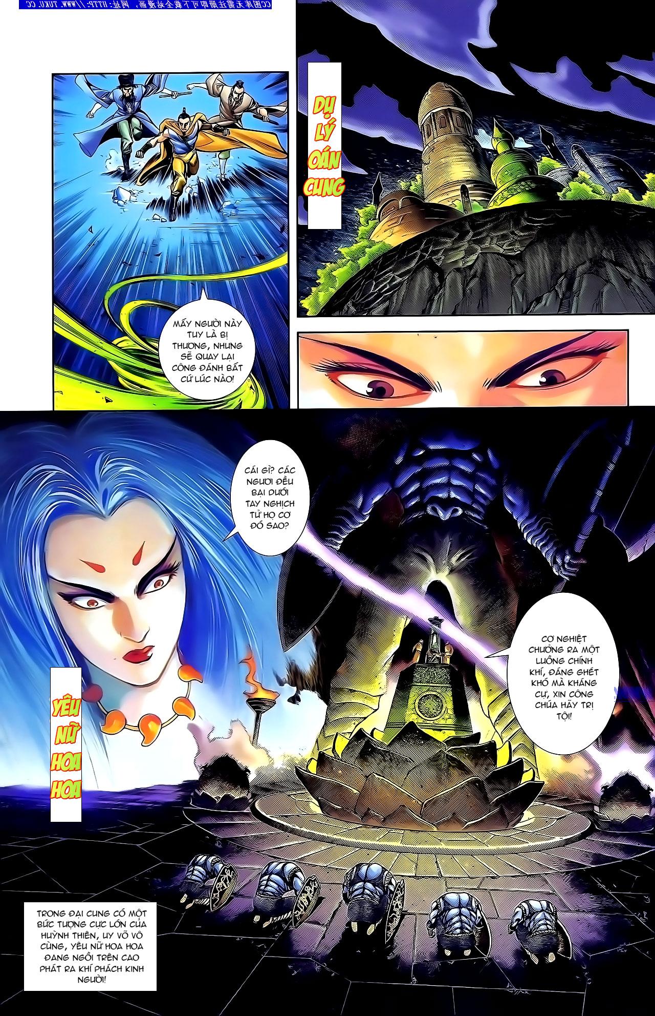 Cơ Phát Khai Chu Bản chapter 134 trang 11