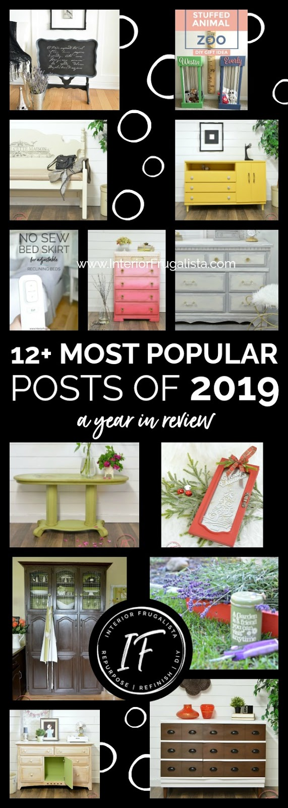 12 Most Popular Projects of 2019