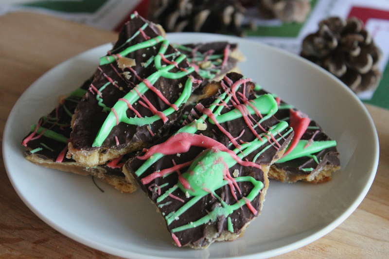 Chocolate Butter Toffee Bars Recipe