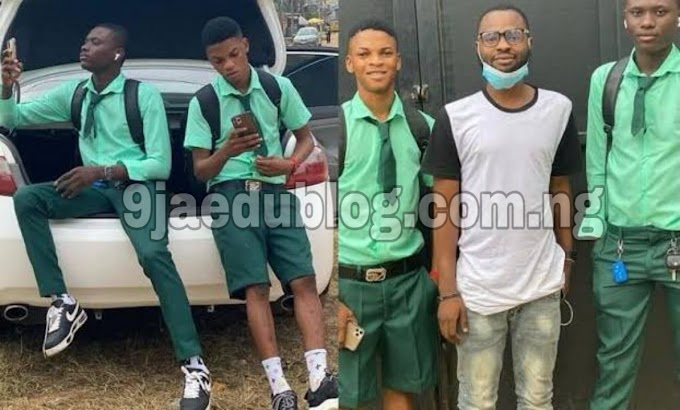 Viral Video of Alleged Yahoo (Benefit) Boys SS3 Students who resume school with Venza and iPhone 11 Pro Max