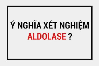 Xét nghiệm aldolase máu là gì ? , các yếu tố tăng aldolase máu, các yếu tố làm giảm aldolase máu, ý nghĩa của chỉ số aldolase máu.