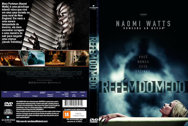Capa DVD Refém Do Medo