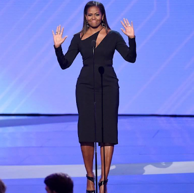 Checkout Michelle Obama's Outfits To The 2017 ESPYS (Photos)