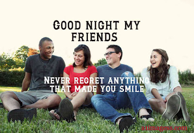 good night best friend image