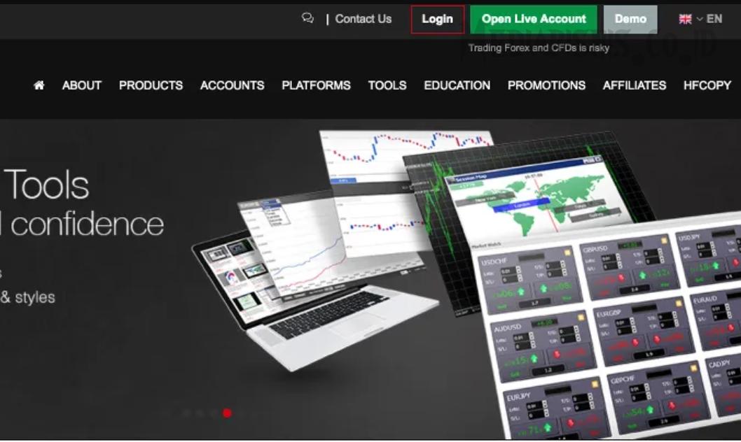 Software Trading Forex di Broker HotForex versi Mobile dan ...