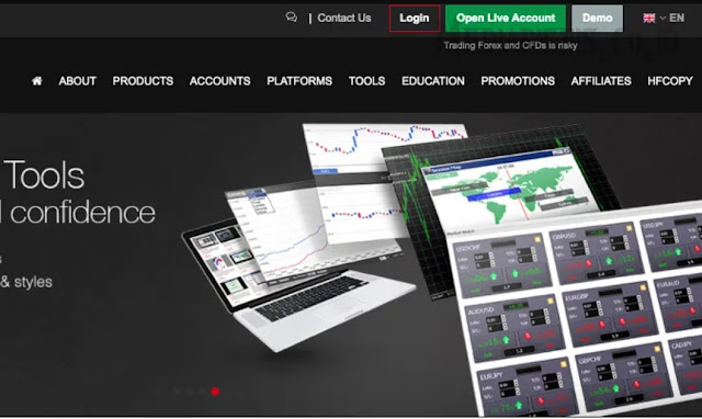 Software Trading Forex di Broker HotForex