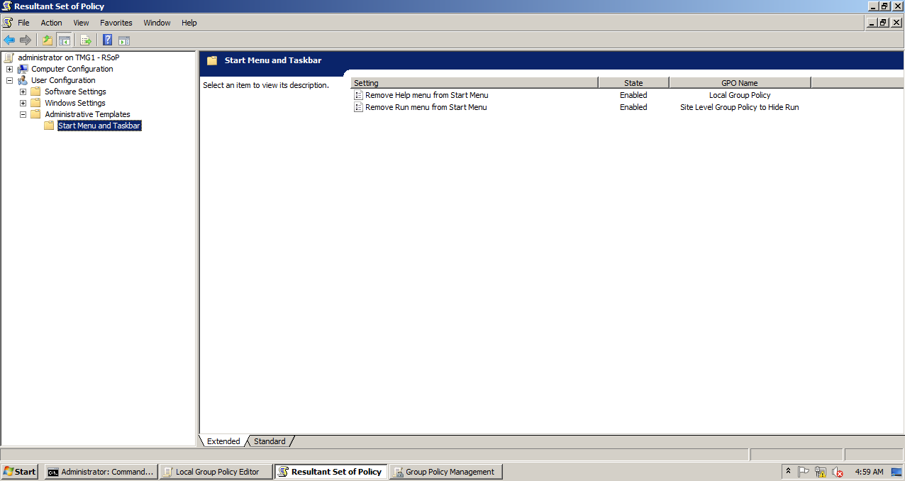AD Shot Gyan: Group Policy Settings are Cumulative