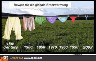 Die Damenunterwäsche, Slips und Co, wird immer mehr sexy