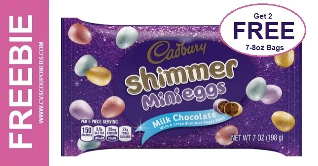 FREE Bag Cadbury Mini Eggs at CVS