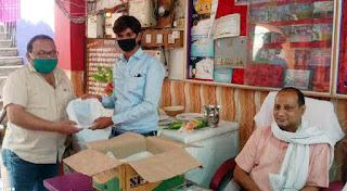 जौनपुर : कोरोना योद्धा पत्रकारों को जेसीआई संस्कार ने किया सम्मानित | #NayaSabera
