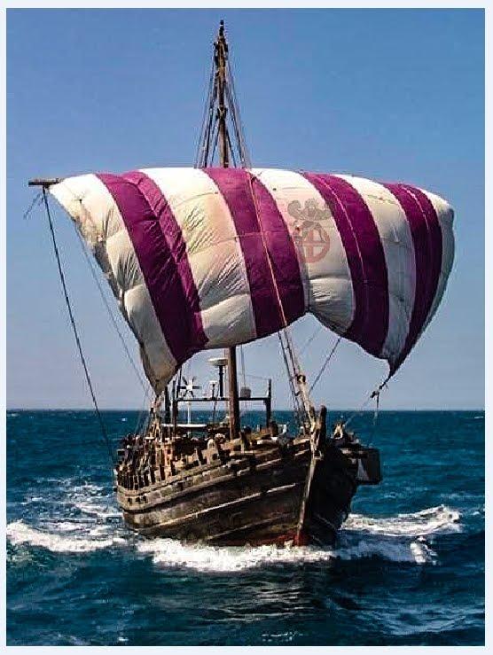 Αντέγραψαν ένα ελληνικό πλοίο για να αποδείξουν ότι οι Φοίνικες ταξίδεψαν στην Αμερικανική ήπειρο ..