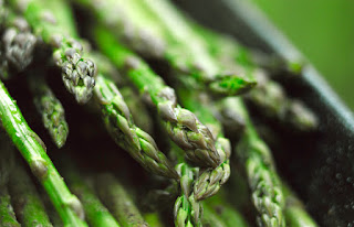 grilled asparagus with lemon
