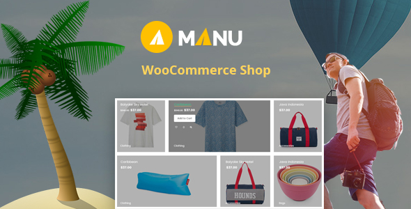 Manu Store WooCommerce WordPress Theme