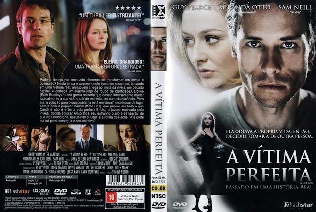 Capa DVD A Vítima Perfeita
