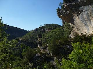 Barranco del Horcajo y cañón del río Tajo