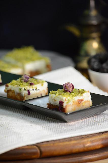 Aish El Saraya ~ Arabic Dessert