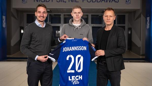 Oficial: Lech Poznan, firma Johannsson