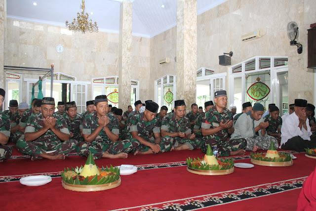 Peringati Hari Juang TNI AD, Divif 2 Kostrad Gelar Syukuran dan Doa Bersama