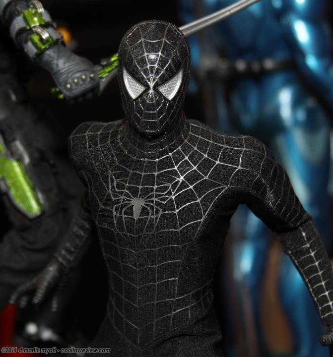 J.ME. ( ̄ε(# ̄): Hot Toys - Spider Man 3 - Black Spider Man