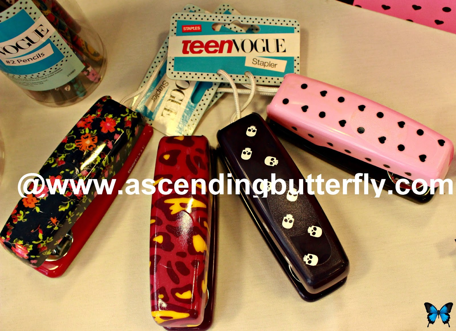 Staplers from Teen Vogue Collection for Staples