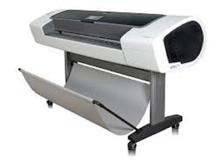 Picture HP Designjet T1100ps Printer