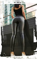 sexy shiny leggings female