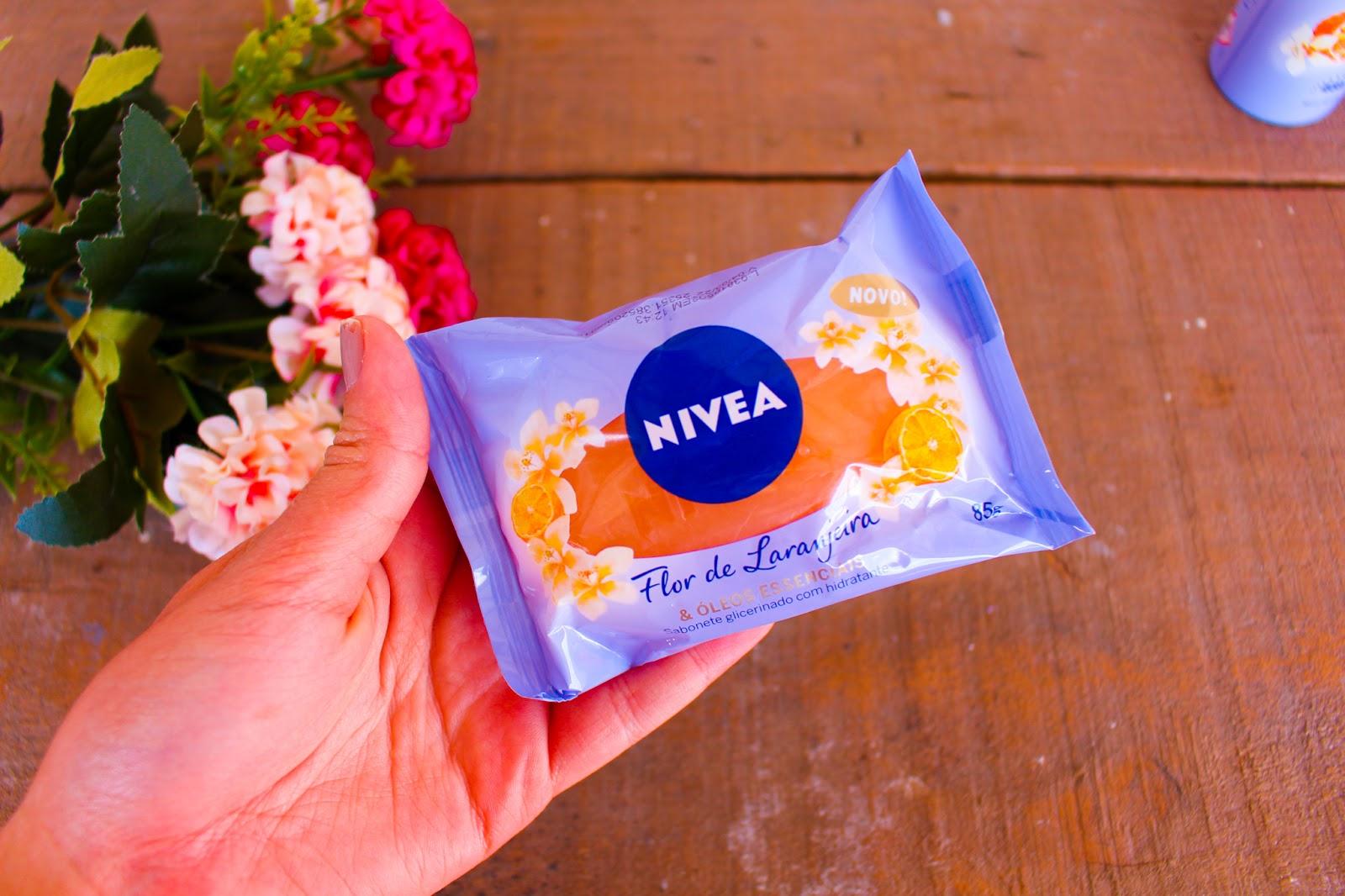 Novidades da NIVEA: Nova Linha Flor de Laranjeira