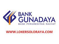Lowongan Kerja Boyolali Februari 2021 di BPR Bank Guna Daya