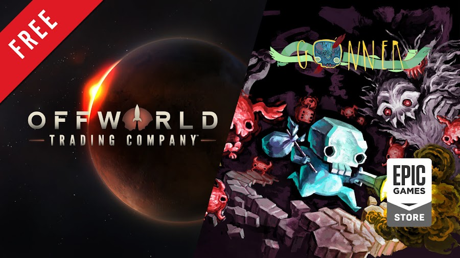 offworld trading company gonner free pc game epic games store real-time strategy game mohawk games stardock entertainment 2D platformer roguelike art in heart raw fury