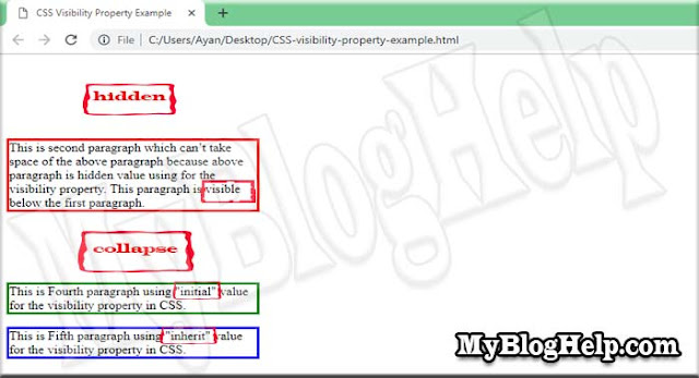 CSS-visibility-property-example