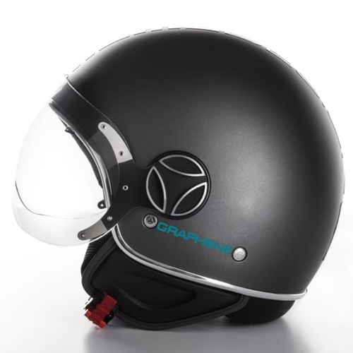 Tinuku.com Momodesign graphene helmet premium safety riding in collaboration with Italian Institute of Technology