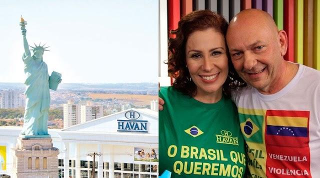 Vídeo: Carla Zambelli diz que Havan é da filha da Dilma e empresa de fachada para lavar dinheiro