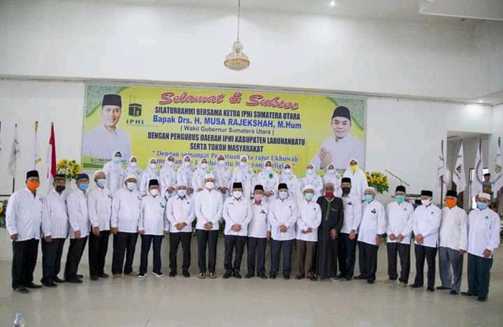 Ketua IPHI Sumut Melakukan Silaturahmi Dengan IPHI Labuhanbatu