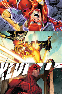 FLASH #758 / TEEN TITANS #43 / DAREDEVIL #21