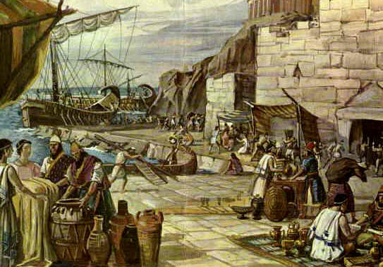 Port of Malaga - Ancient Period