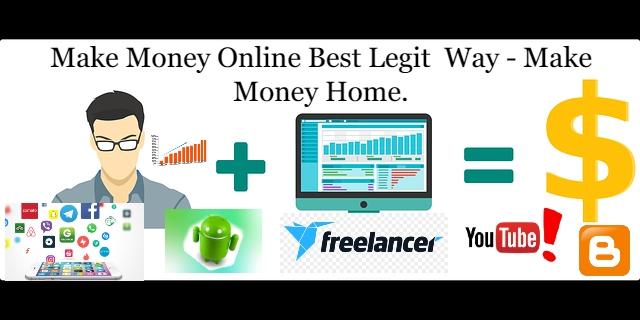 ''make money online'' best legit  way -''make money home''.