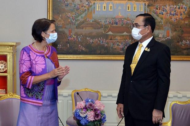 PBB Temui Prayuth Chan-o-Cha, Minta Thailand Bantu Akhiri Krisis Myanmar.lelemuku.com.jpg
