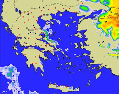 6 - Πρόγνωση Ελλάδας-Θεσσαλίας 21-23/1/2020 Βοριάδες, παγετός και ηλιοφάνεια