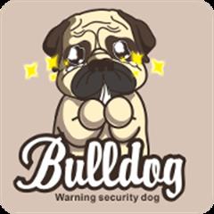 Warning security dog~bulldog Part. 2