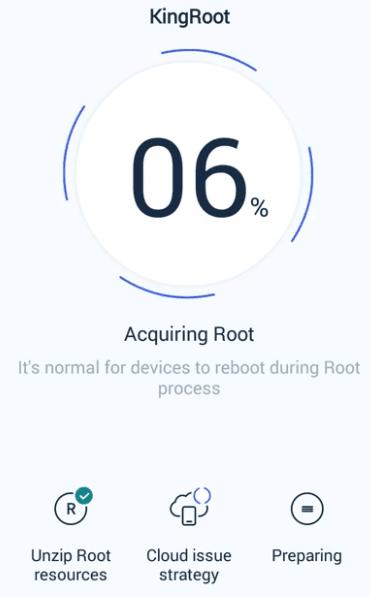 Root HP dengan kingroot