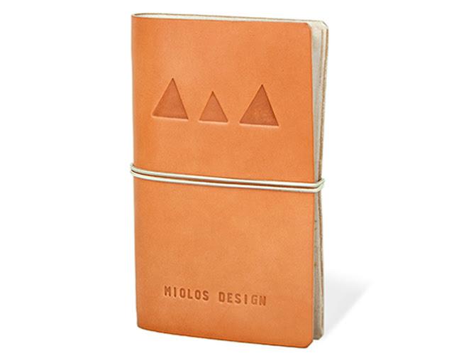 cuaderno tostado de Miolos design
