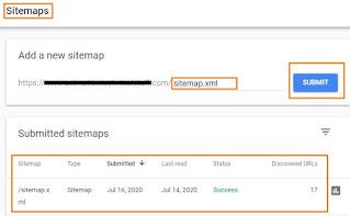 sitemap index, sitemap xml