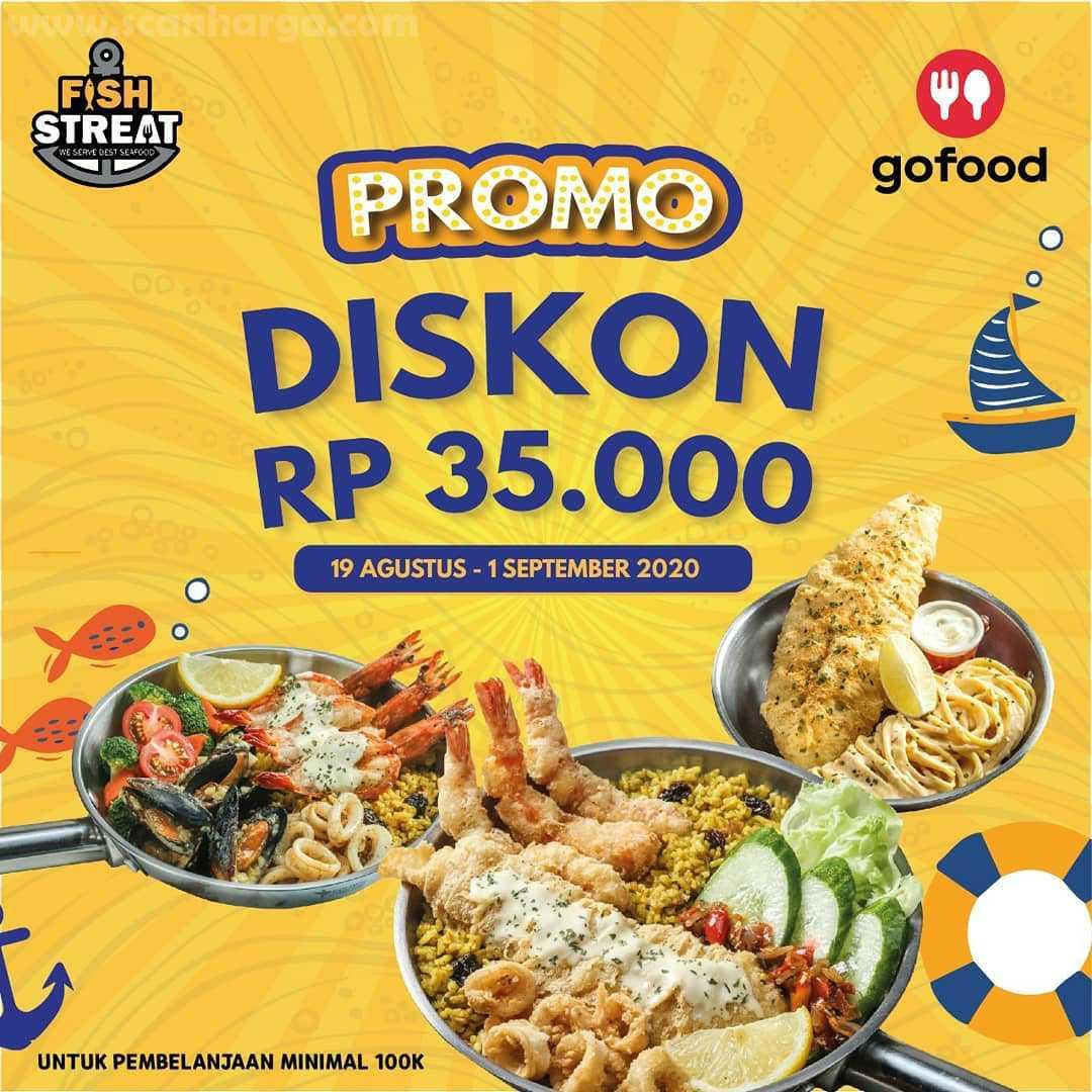 Promo Fish Streat Terbaru Diskon Rp 35.000 Order Via Gofood