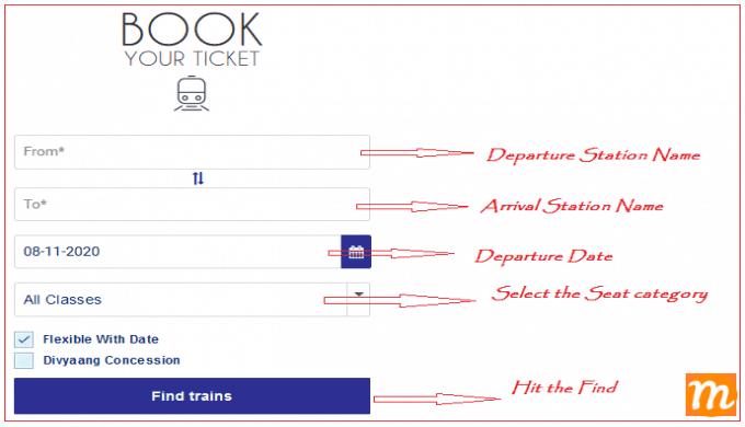 indian railway ticket booking