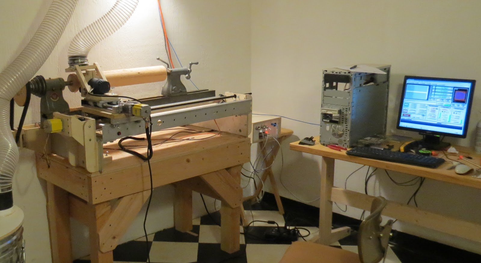 Project Notes Router Lathe Converted To Cnc