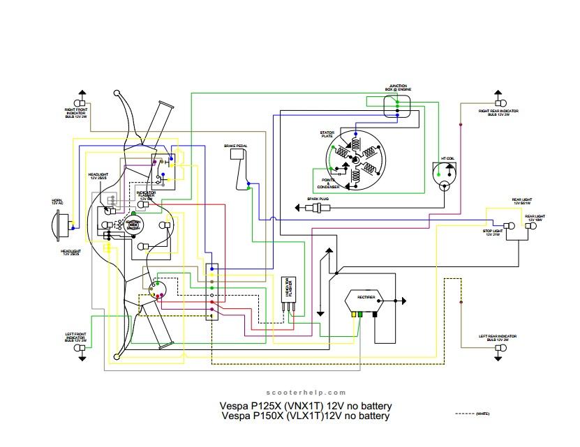 Awe Inspiring Vespatronic Vespa Wiring Diagram Better Wiring Diagram Online Wiring Database Heeveyuccorg