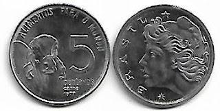 5 centavos, 1977