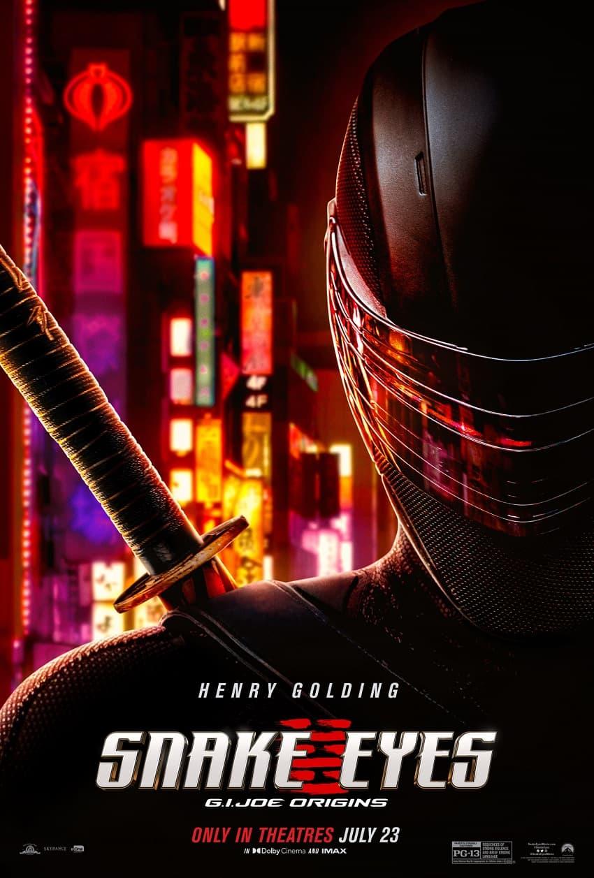 Paramount показала полный трейлер фантастического боевика «G. I. Joe. Бросок кобры: Снейк Айз» - Постер