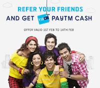 New site giving free paytm cash 2016